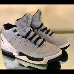 Nike Air Jordan Original Flight GS Gray Black 6.5y